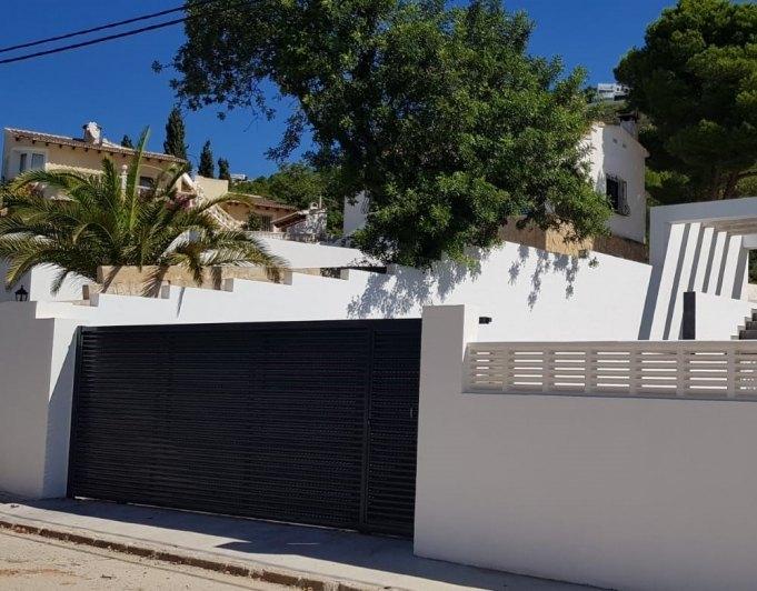 villa en moraira · el-portet 655000€