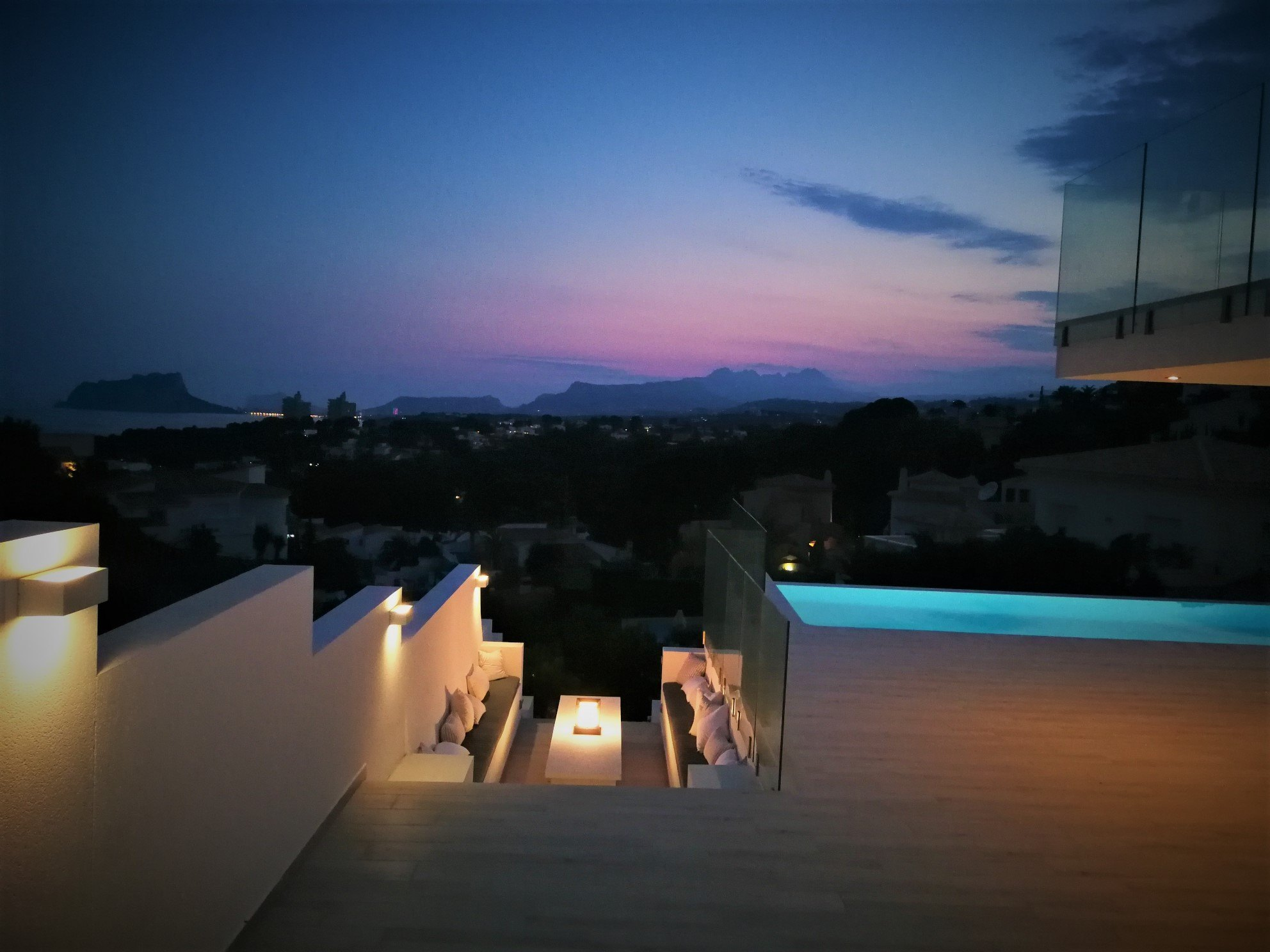 villa en moraira · el-portet 1495000€